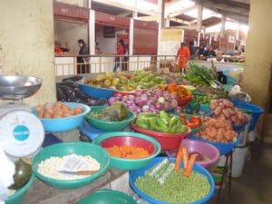 Chachapoyas Markt Amazonas