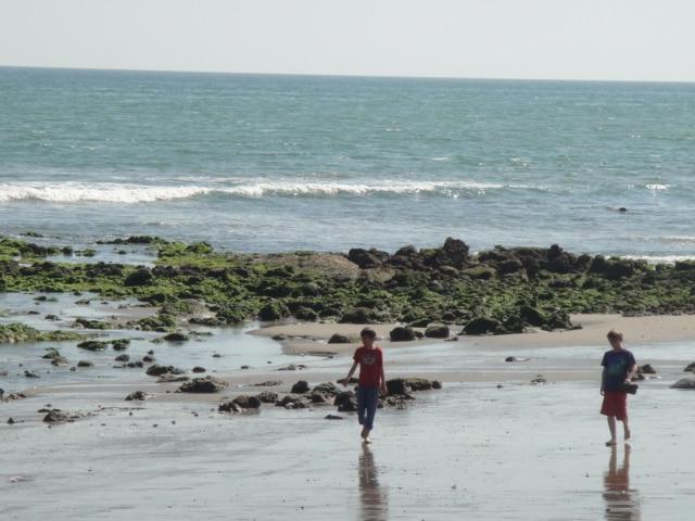 Strand Nordküste von Peru