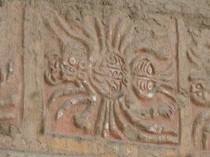 Huaca del Sol Trujillo Ausgrabungsstätte an der Nordküste von Peru