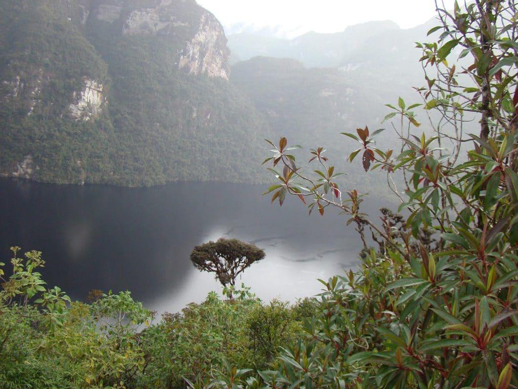 Lagune der Kondoren Amazonas.