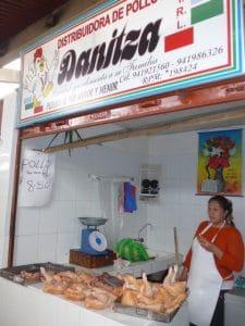 Chachapoyas farmers market chicken