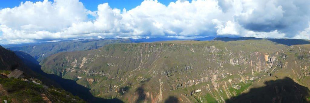 Canon del Sonche, Huancas, Amazonas.