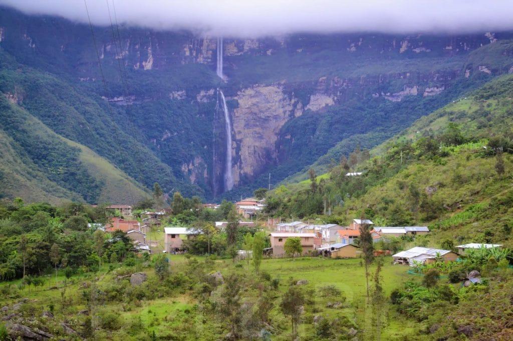 Village Cocachimba, Gocta, Amazonas