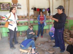 Huancas, village des céramistes