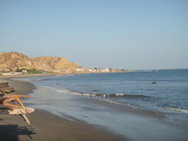 Strand im Norden von Peru