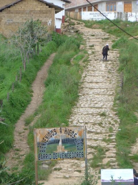 Chemin Inca à Chachapoyas