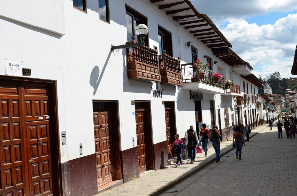 Chachapoyas, zone piétonne