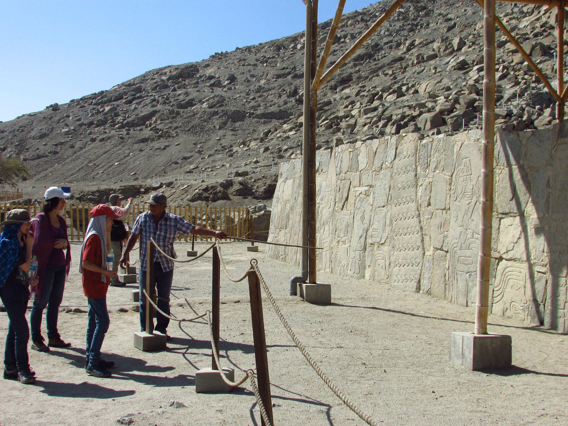 Explication Sechin, archéologie nord du Pérou