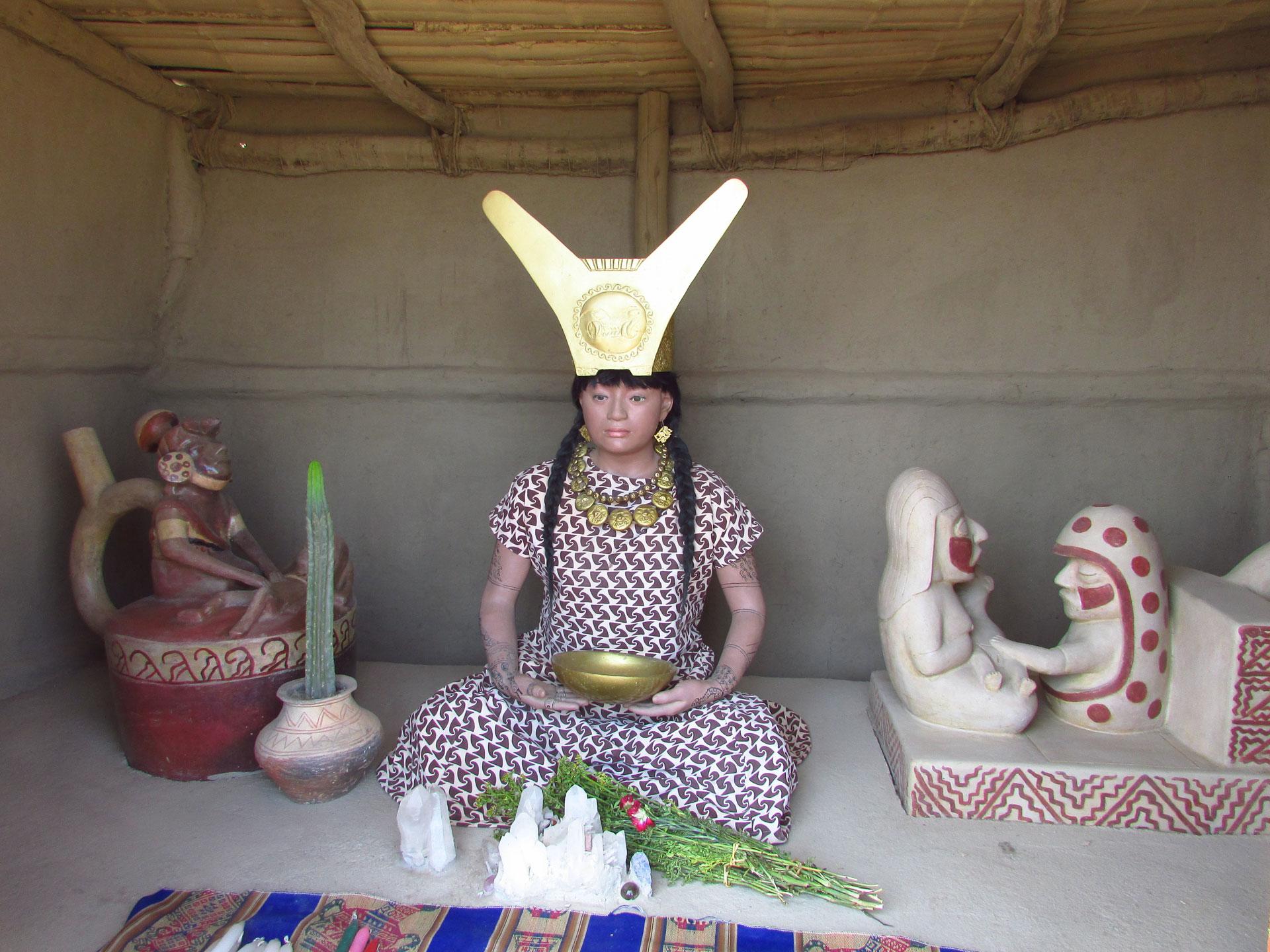 Senora de Cao, El Brujo, Nord du Pérou