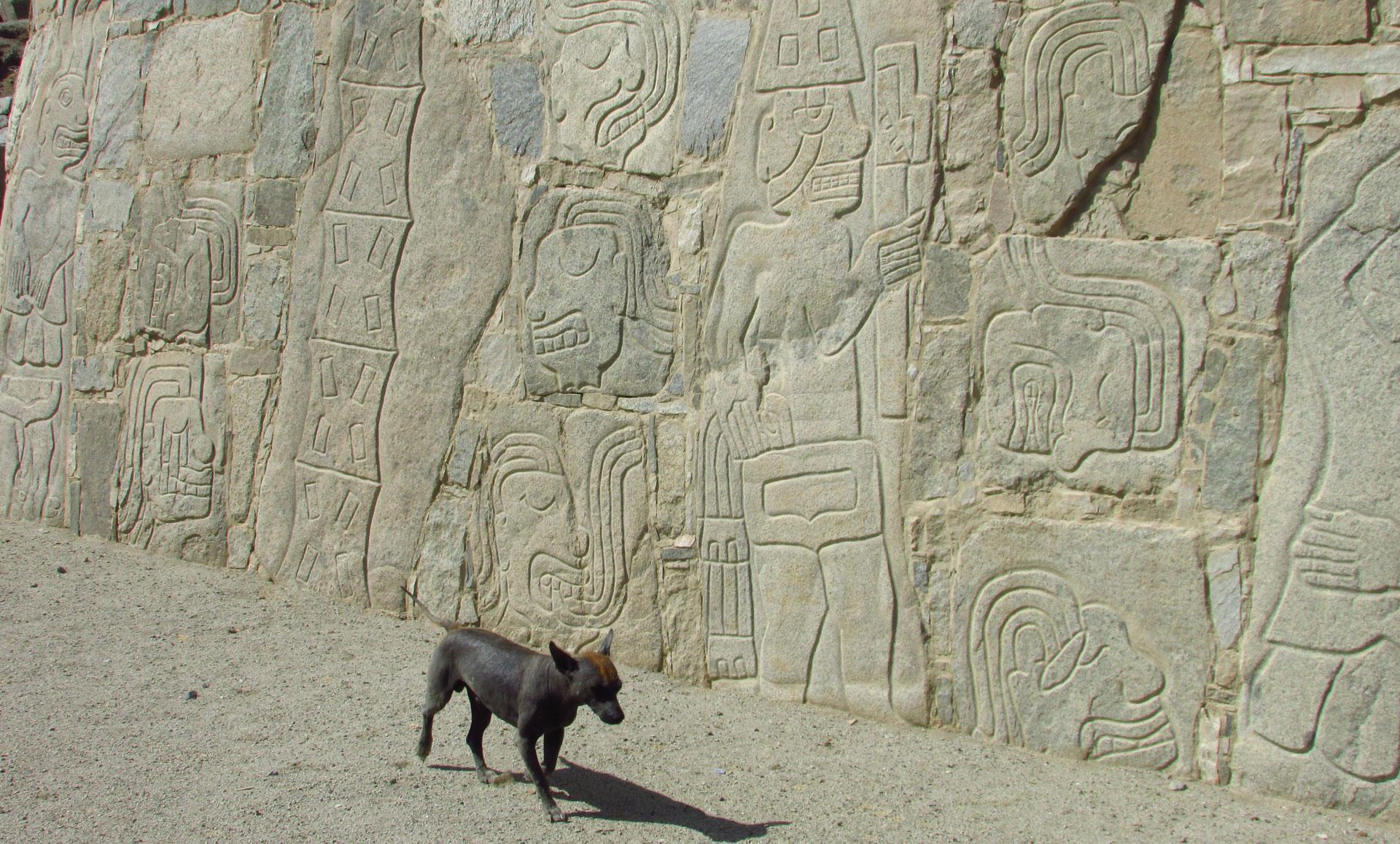 Nordperu, Sechin archäologische Stätte