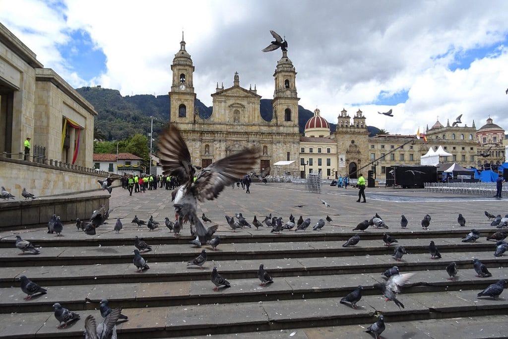 Bogota centre ville