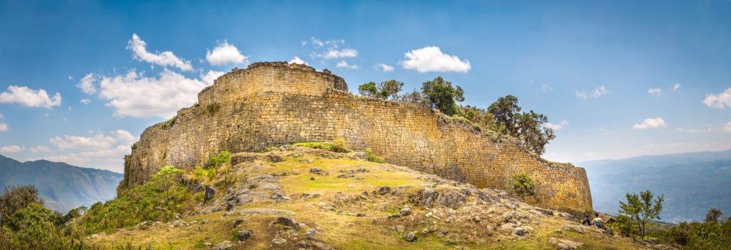 Mur de Kuelap, nord du Pérou, région Amazonas