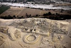 Caral, Ausgrabungsstätte im Norden von Peru, Reiseroute für Nordperu