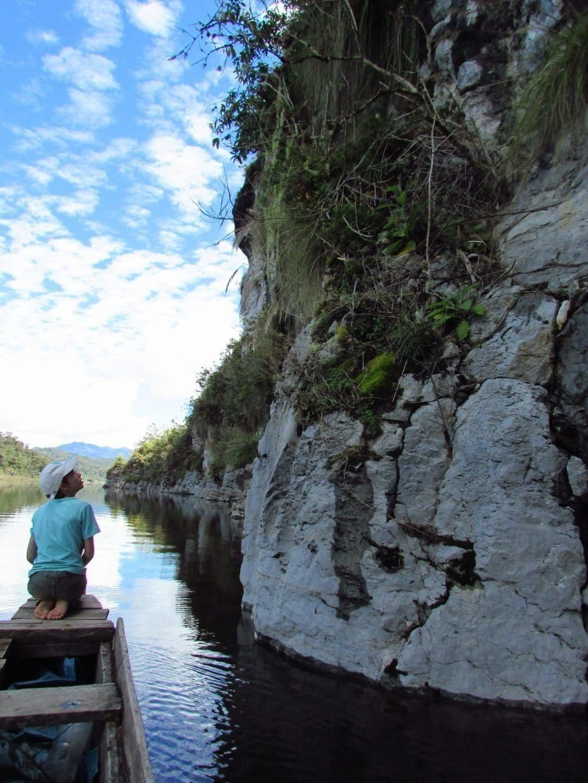 Cliffs in Lake Huamanpata, Amazonas, Northern Peru, Phima Voyages