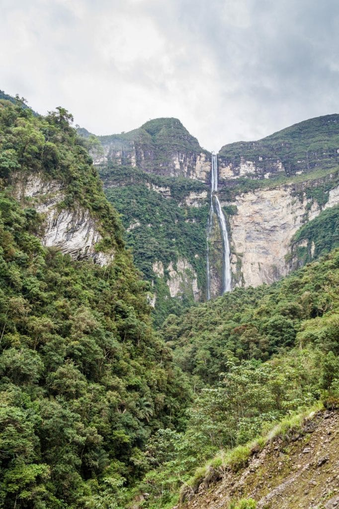 Randonnée à Gocta, nord du Pérou
