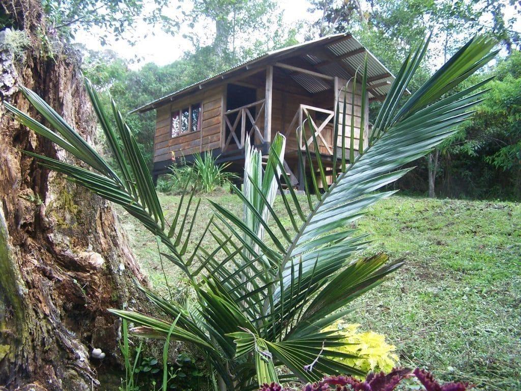 Blockhütte Lagune de Huamanpata