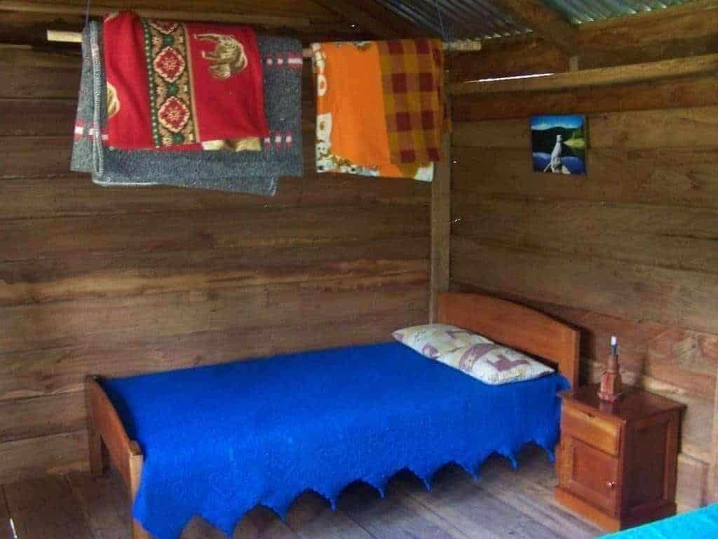 Blockhütte Huamanpata Amazonas