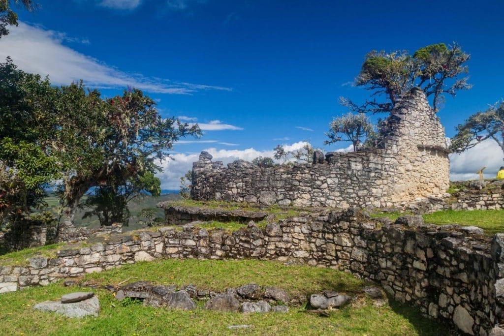 Site archéologique de Kuelap au nord du Pérou