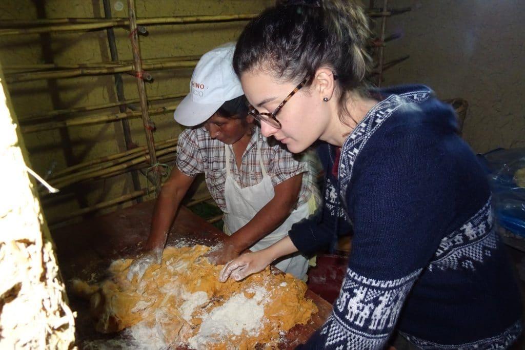 Activité pain Tourisme rural, Chachapoyas, nord du Pérou