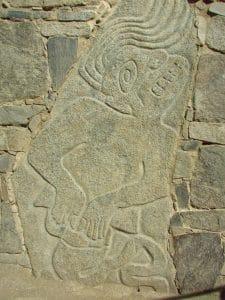 guerrier mur de Sechin