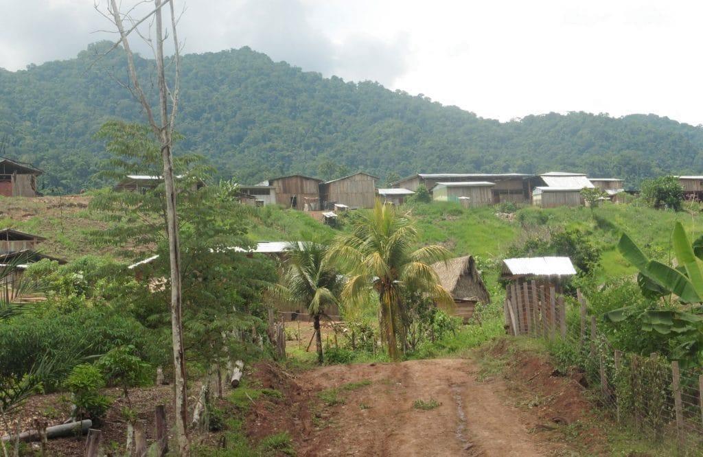 village de nuevo Chimbote, Amazonie du Nord du Pérou