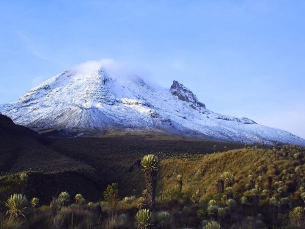 Un des parcs nationaux de la Colombie