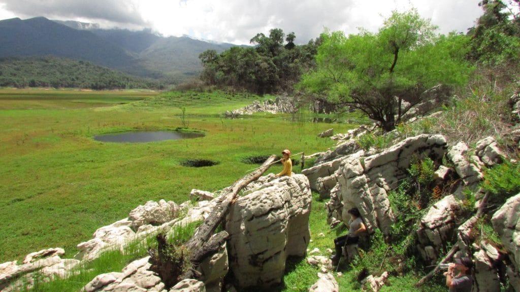 Tolle Aussicht Huamanpata