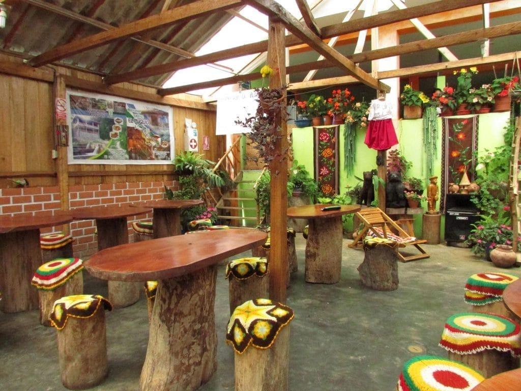 Salle El Puquio restaurant à Pomacochas