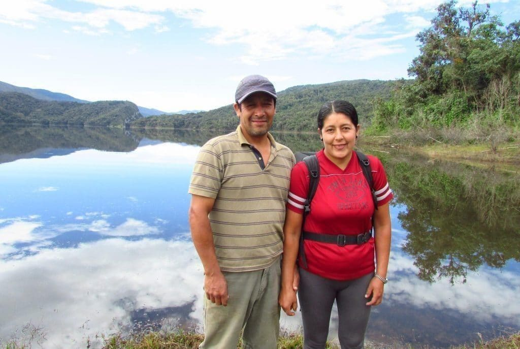 Roberto and Carmen Huamanpata