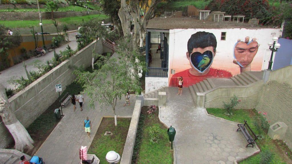 Street art Barranco, Lima