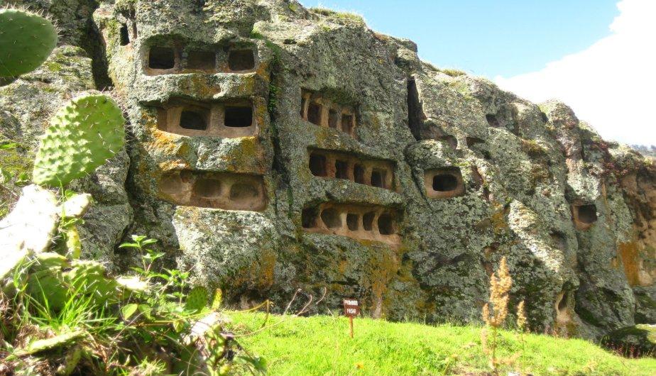 Nécropole Culture Cajamarca vestiges pré-incas