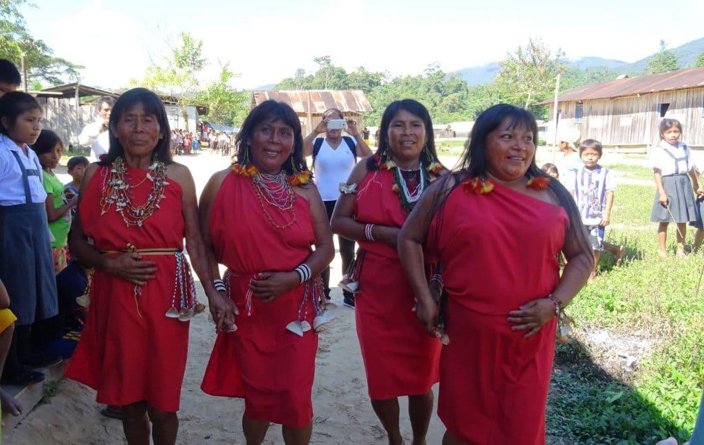 Danse de bienvenue, Amazonie péruvienne
