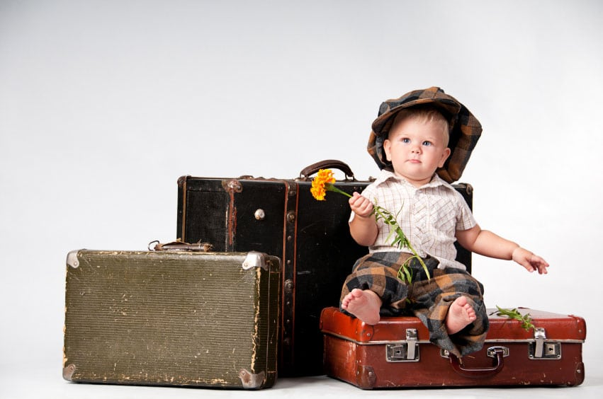Voyage avec enfants