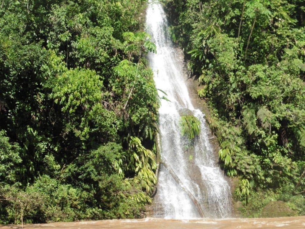 La cascade Flora, Amazonie Nord du Pérou