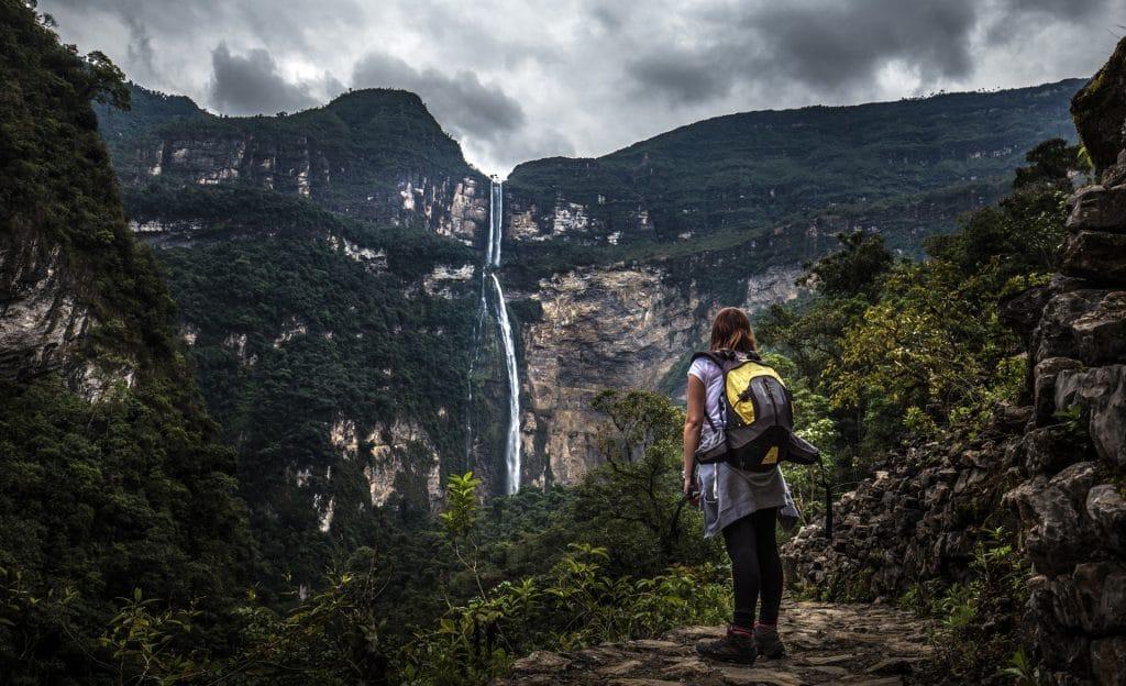 Amazing Gocta Waterfall, travel to northern PEru
