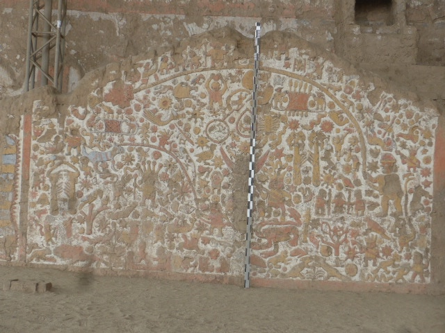 Site archéologique Temple de la Lune, Trujillo