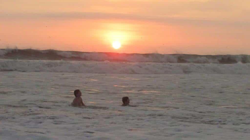 beach wakama children