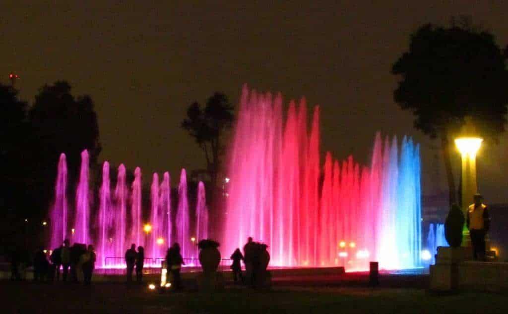 fontaine parc Lima
