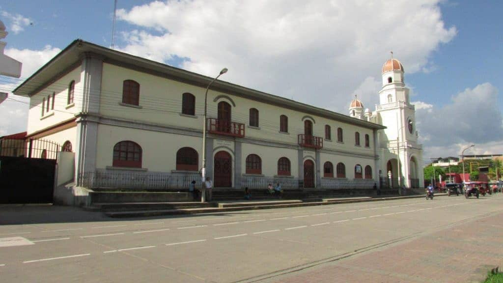 Main square of Moyobamba