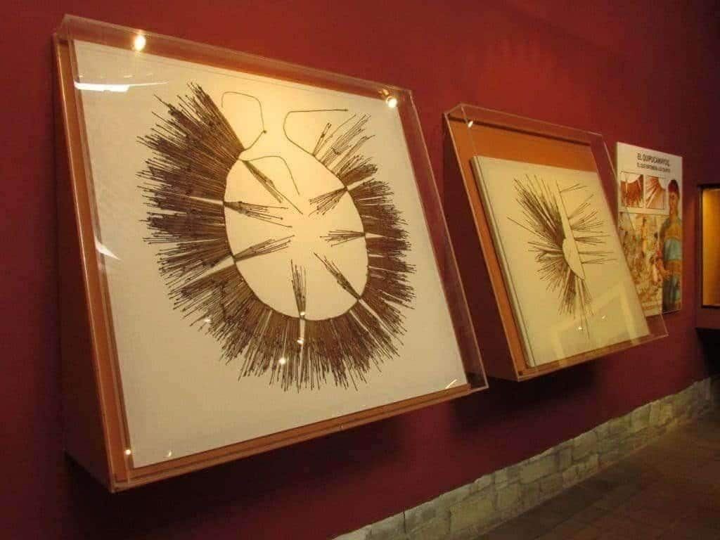 quipu au musée de Leymebamba