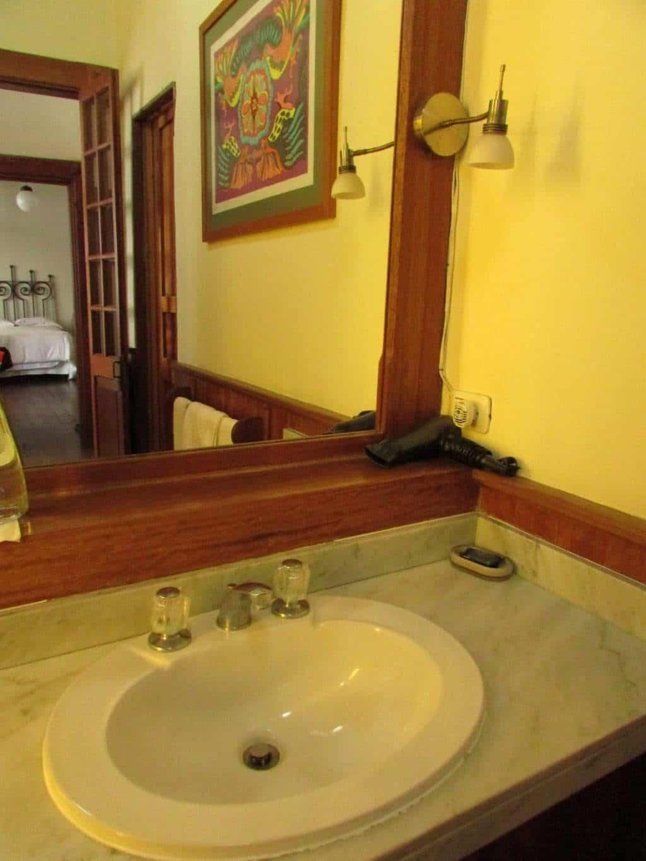 détail salle de bain second home hotel