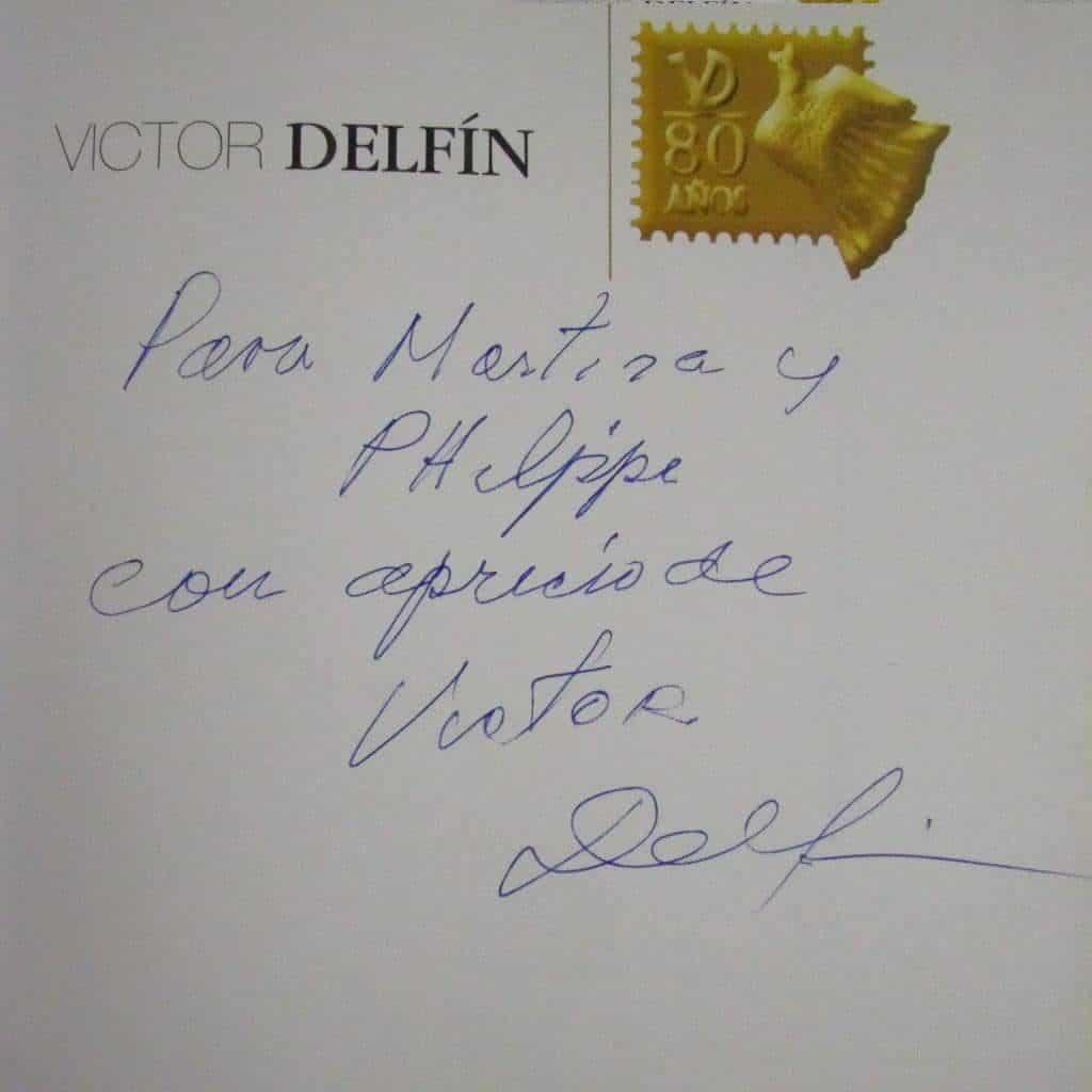 signature Victor Delfin