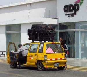 Taxi Aéroport Chiclayo