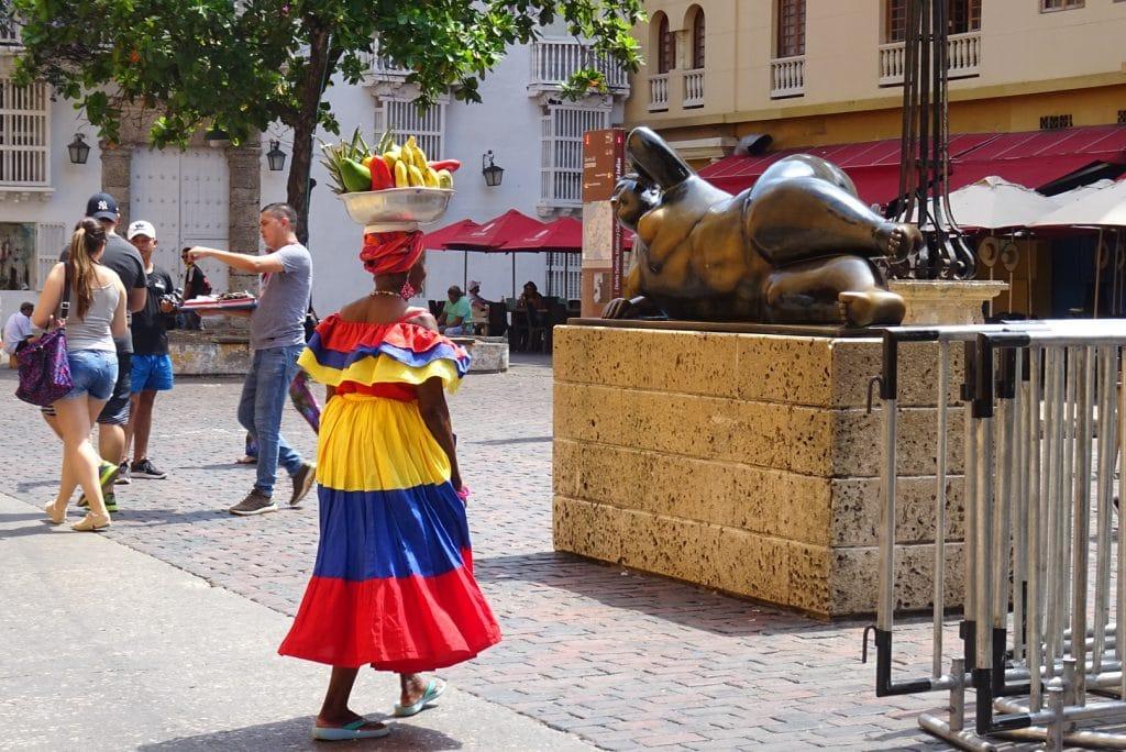 Statue von Botero