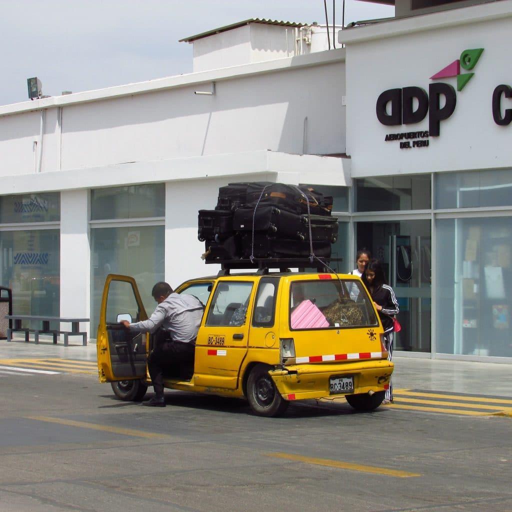Ratschläge für Peru Gepäck