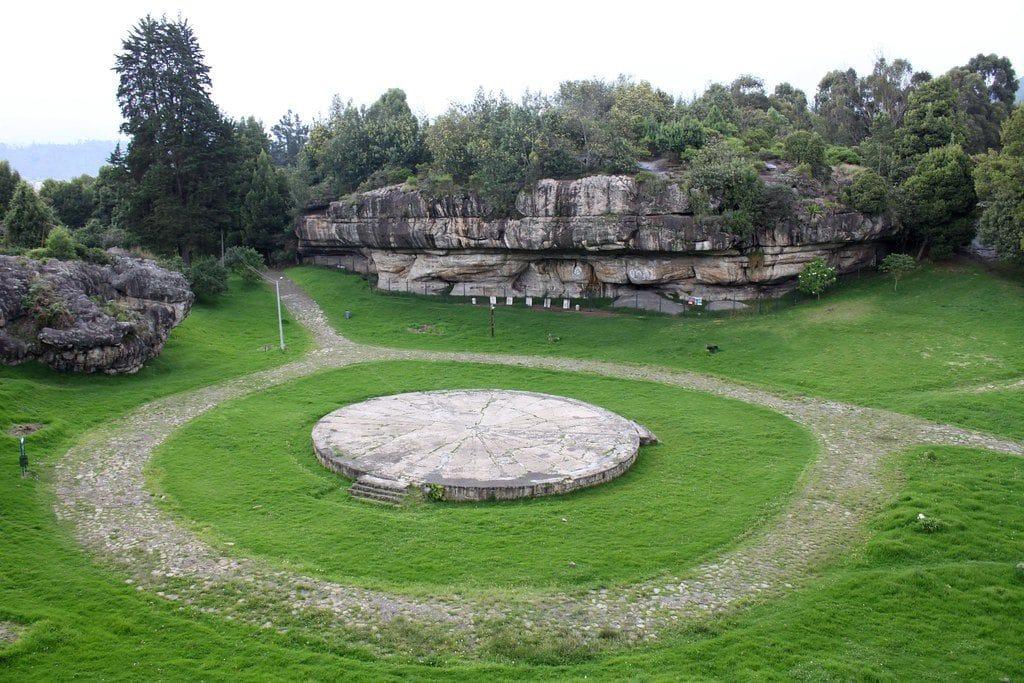 eine der archäologischen Stätten in Kolumbien