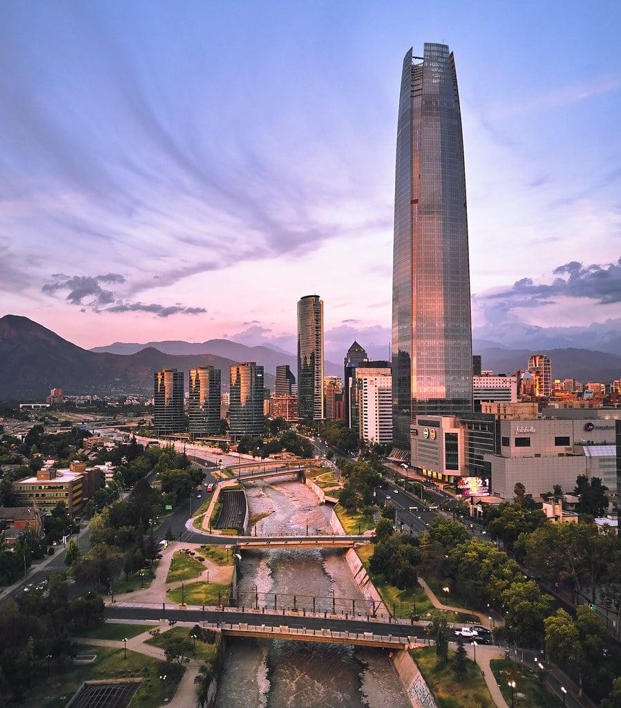 Santiago besichtigen, Chile