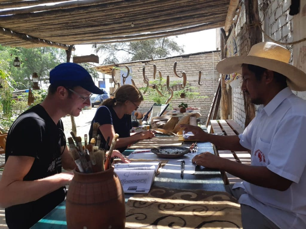 Responsability Phima Voyages, activities in Tucume