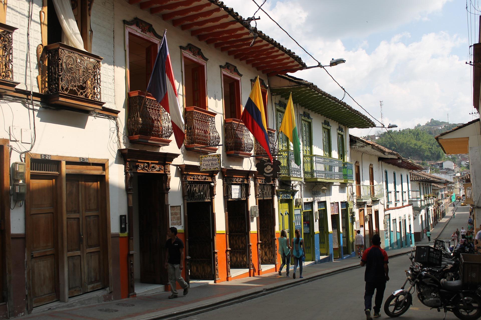 Kolumbienreise Salamina