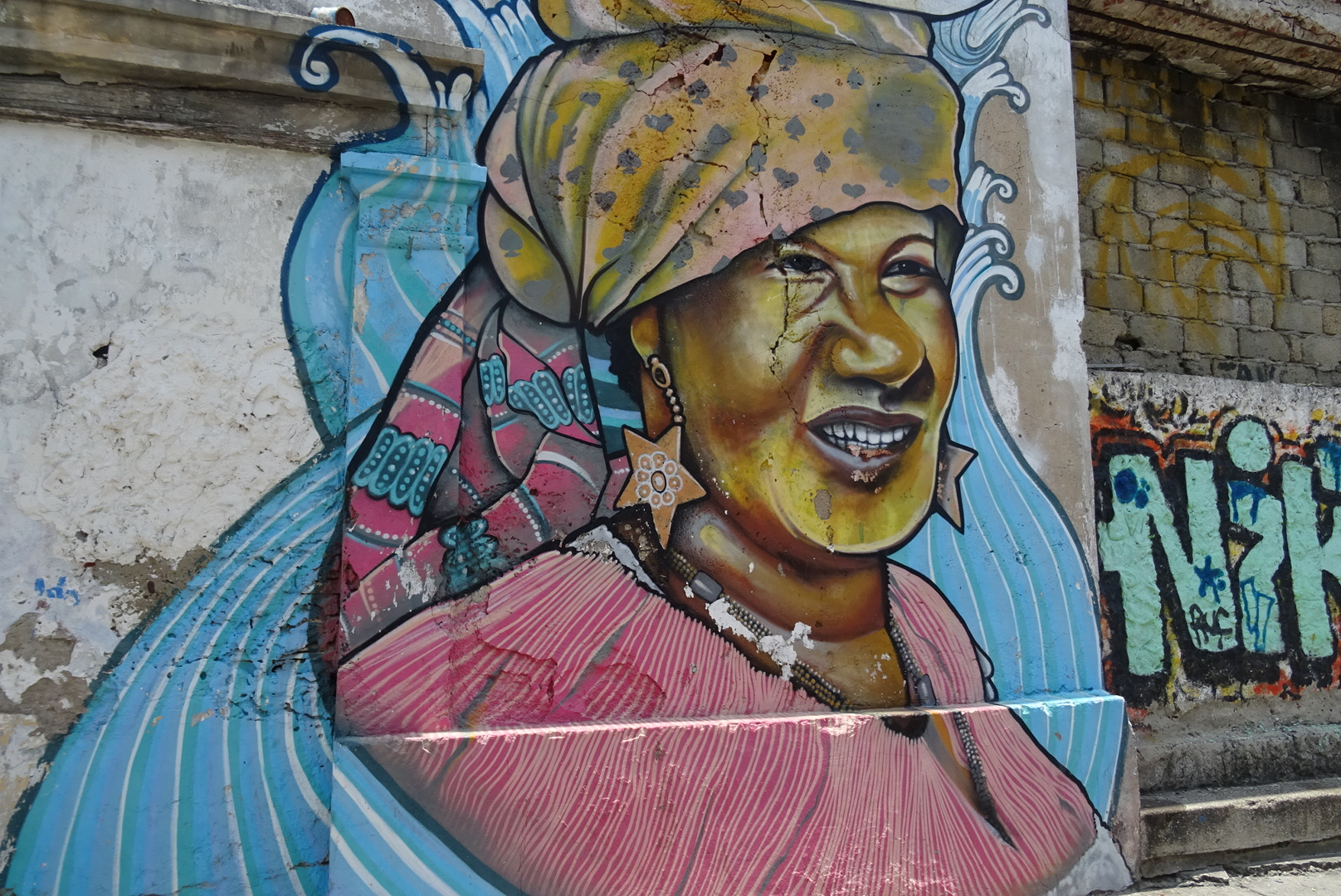 Street art Colombia